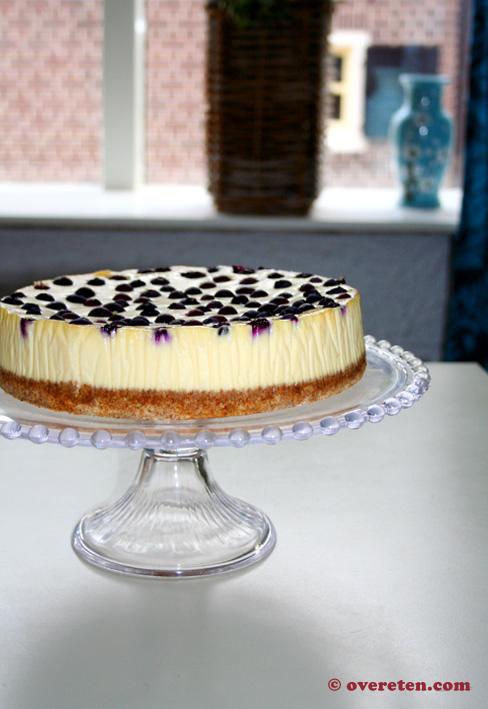 niet gebakken cheesecake