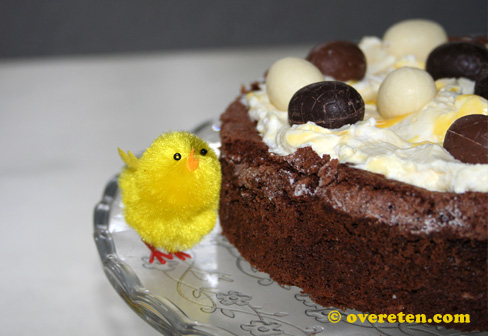 Chocolade Paastaart (4)
