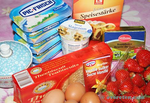 Aardbeien Cheesecake (2)