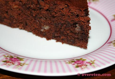 Chocoladecake met marsepein (2)