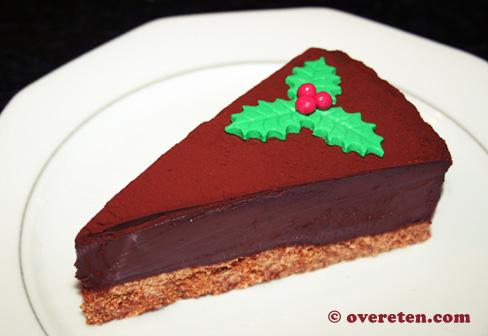 Chocoladetruffeltaart voor Kerst (1)