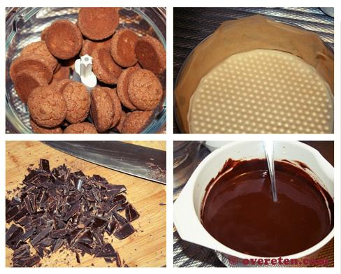 Chocoladetruffeltaart voor Kerst (3)