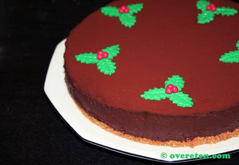 Chocoladetruffeltaart voor Kerst (4)