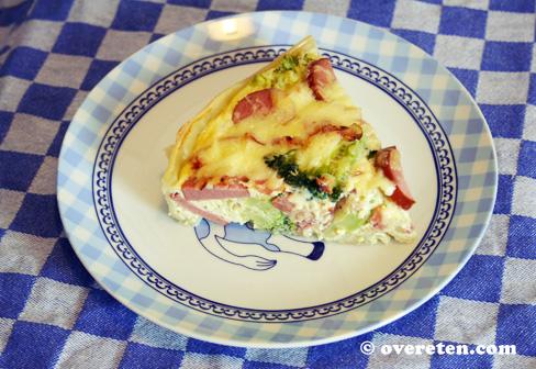 Herfstige quiche met broccoli en rookworst (3)