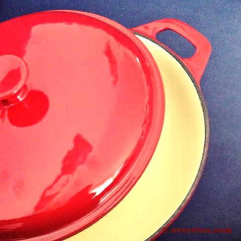 Gietijzeren braadpan (2)
