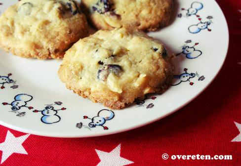 Cranberry-koekjes met witte chocolade (1)