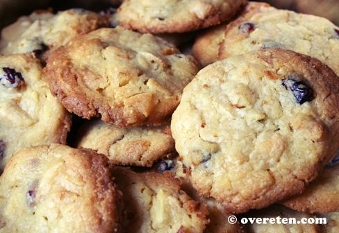 Cranberry-koekjes met witte chocolade (2)