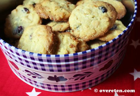 Cranberry-koekjes met witte chocolade (3)
