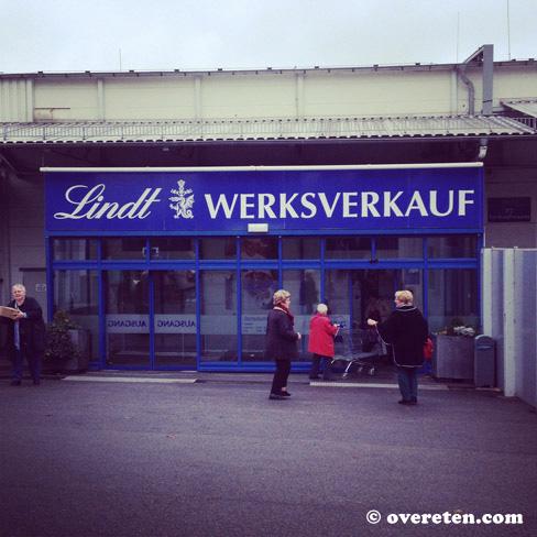 Werksverkauf Lindt Aachen (2)