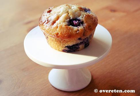 Blauwe bessen muffins (2)