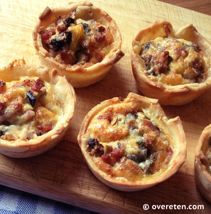 Mini-quiches met champignons en roquefort (2)