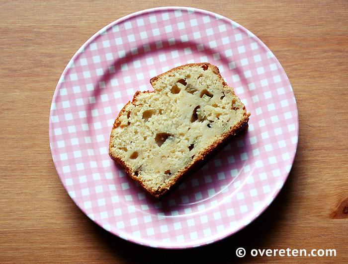 Frisse rabarbercake met citroen (3)