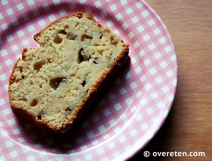 Frisse rabarbercake met citroen (4)