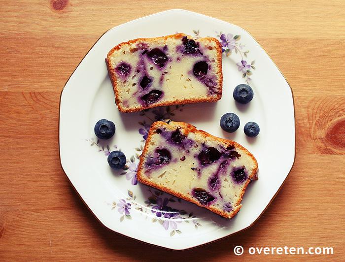 Yoghurtcake met blauwe bessen (1)