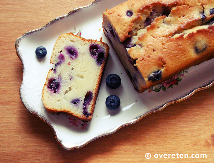 Yoghurtcake met blauwe bessen (3)