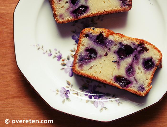 Yoghurtcake met blauwe bessen (4)