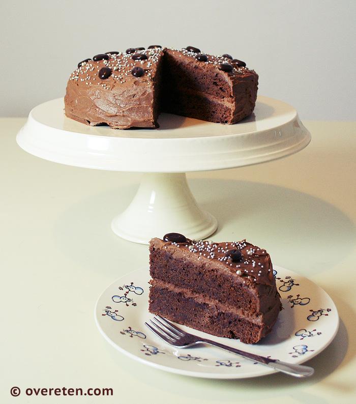 Chocoladetaart voor Kerst (1)