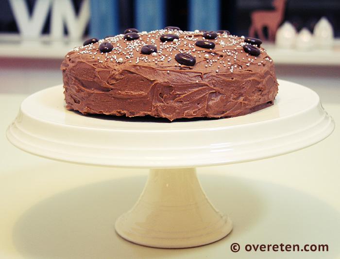 Chocoladetaart voor Kerst (2)