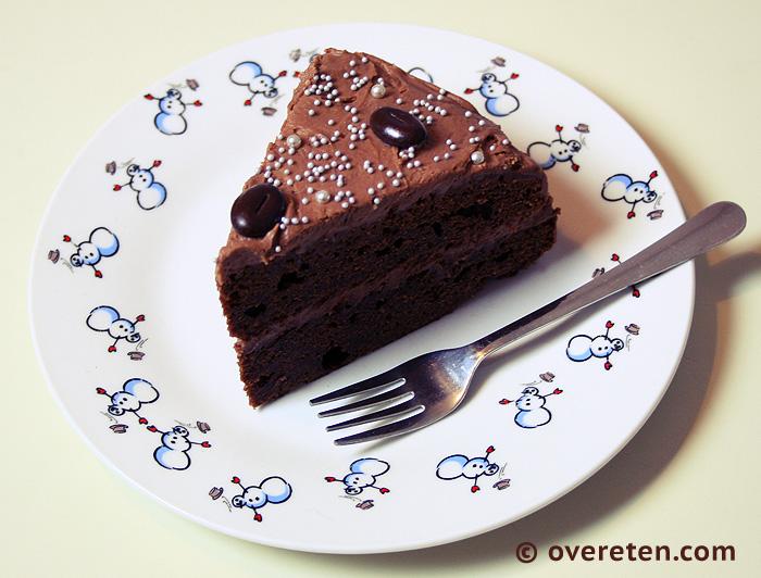 Chocoladetaart voor Kerst (3)