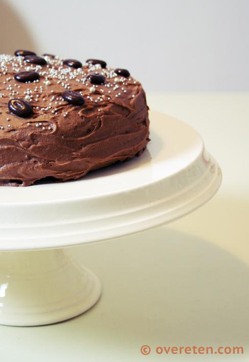 Chocoladetaart voor Kerst (5)