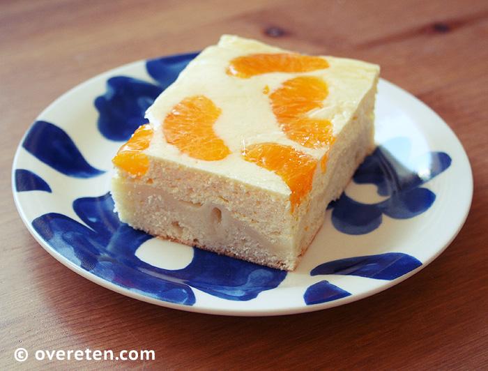 Kwarktaart met mandarijntjes (1)