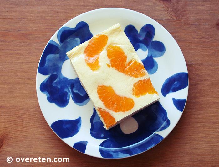 Kwarktaart met mandarijntjes (4)