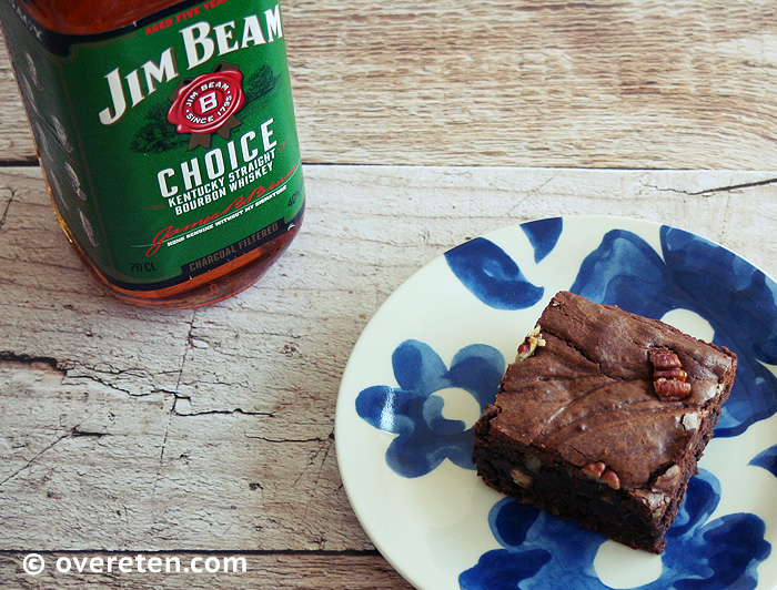Bourbon Pecan Brownies (4)